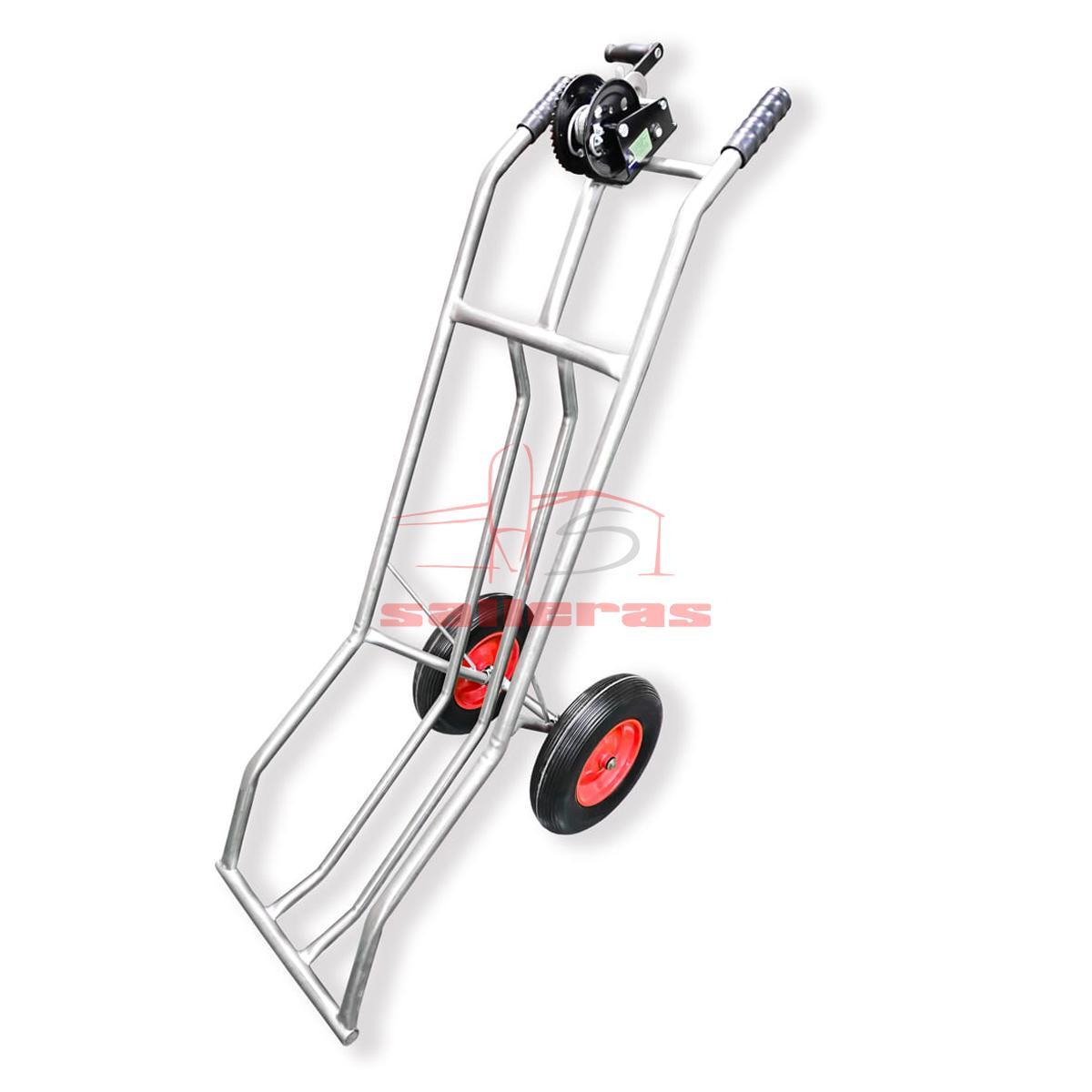 Carretilla de tubo con ruedas