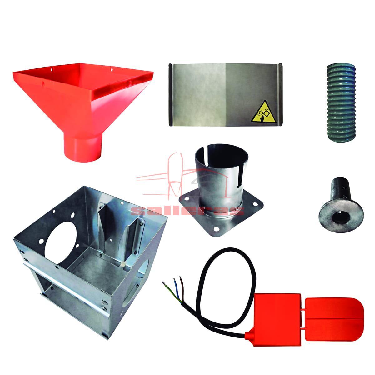 Conjunto componentes unidad de control