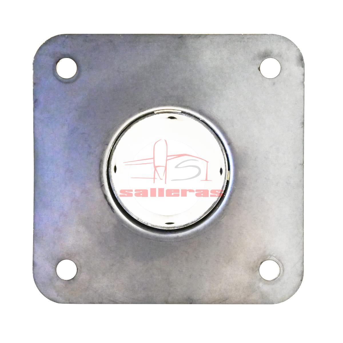 Manguito metalico de acero inoxidable con agujeros por debajo