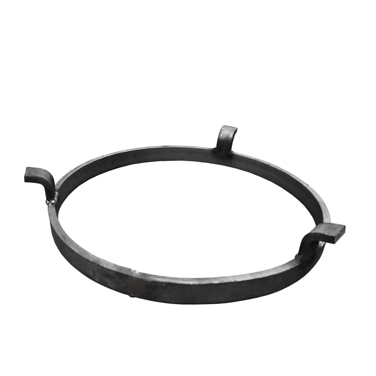 Aro negro para estufa de carbon con tres encajes