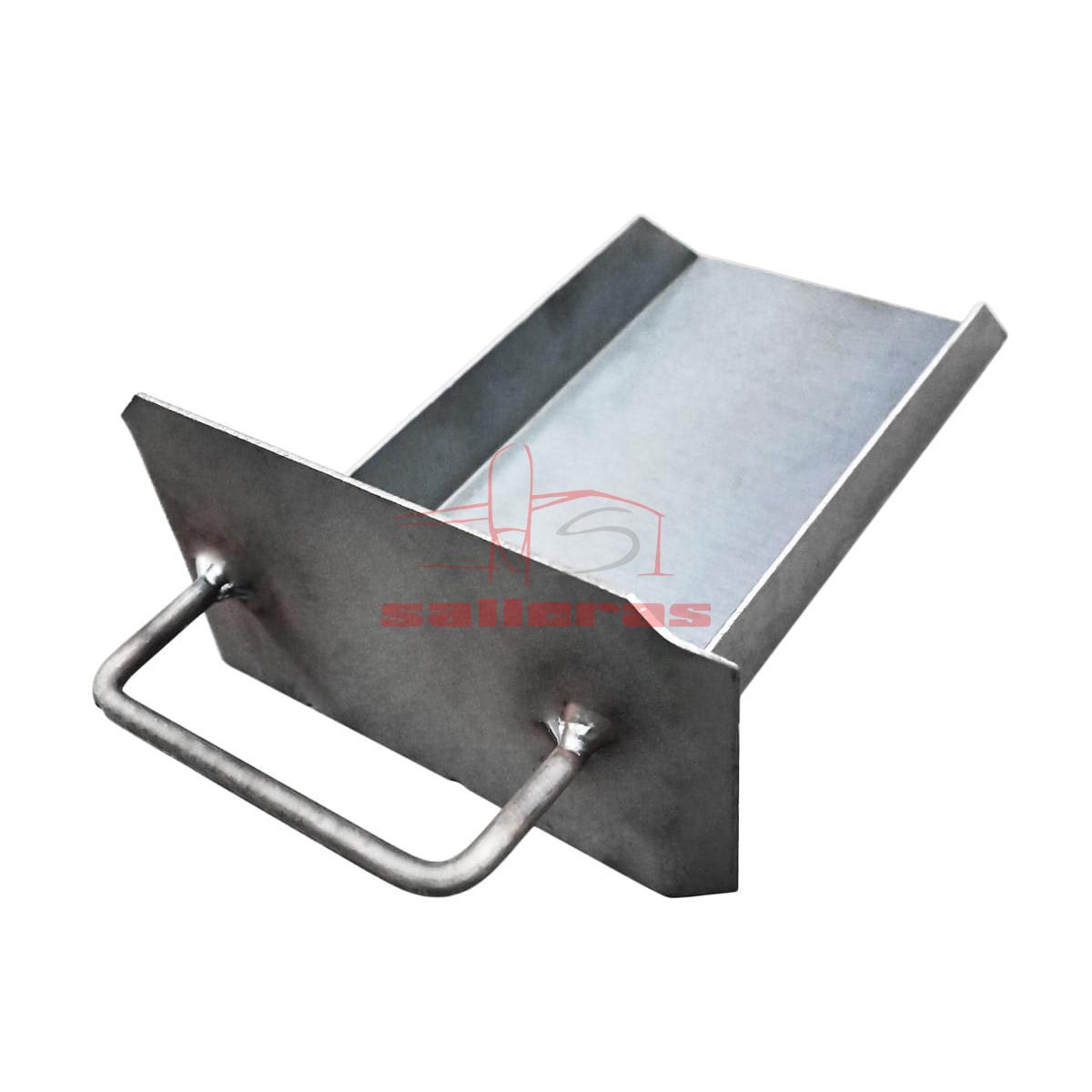 Cajon negro para estufa con asa