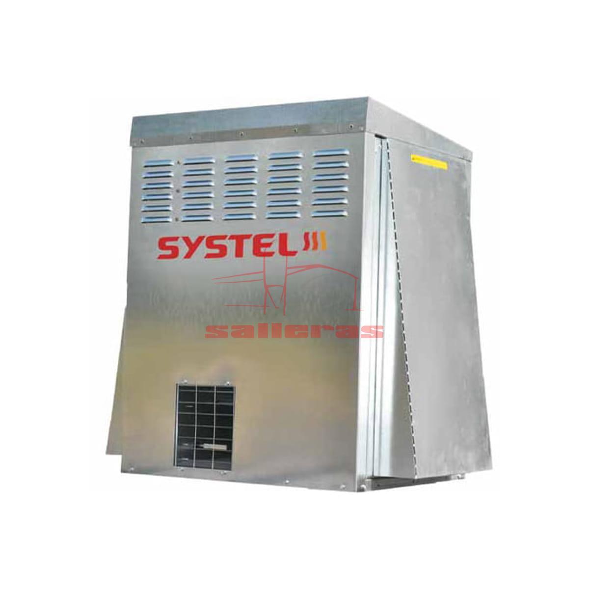 Generador de aire caliente rectangular