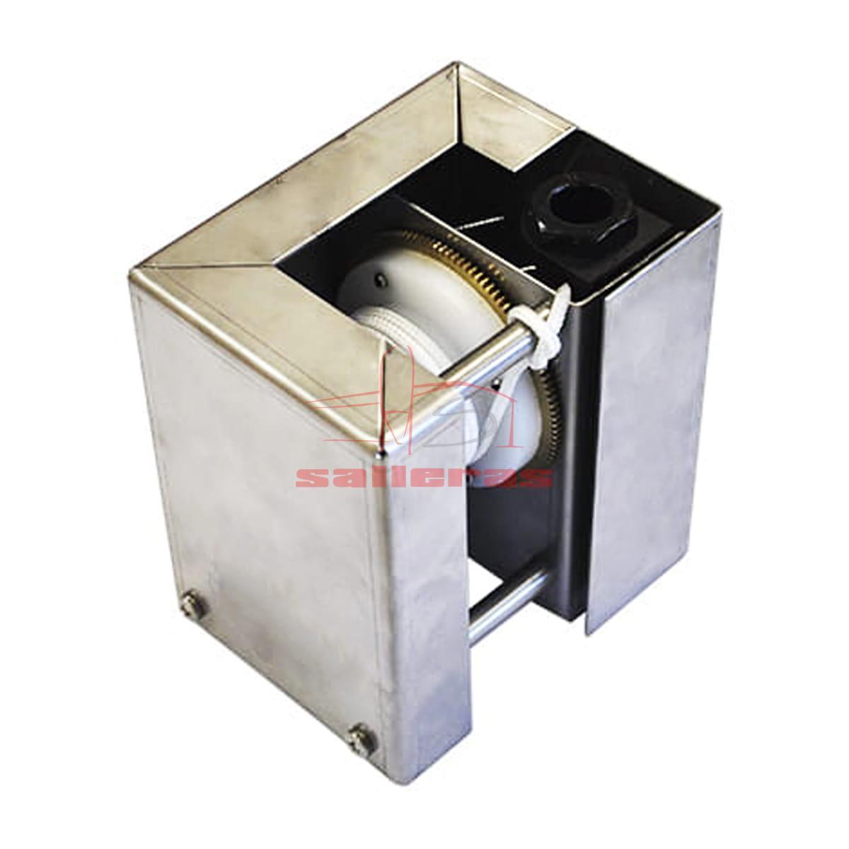Motor con caja semiabierta protectora
