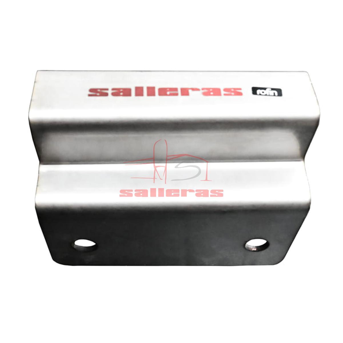 Bisagra de acero inoxidable para puerta con cuatro agujeros