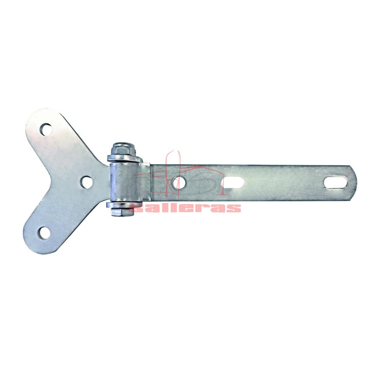 Bisagra de poliester de acero inoxidable para puertas