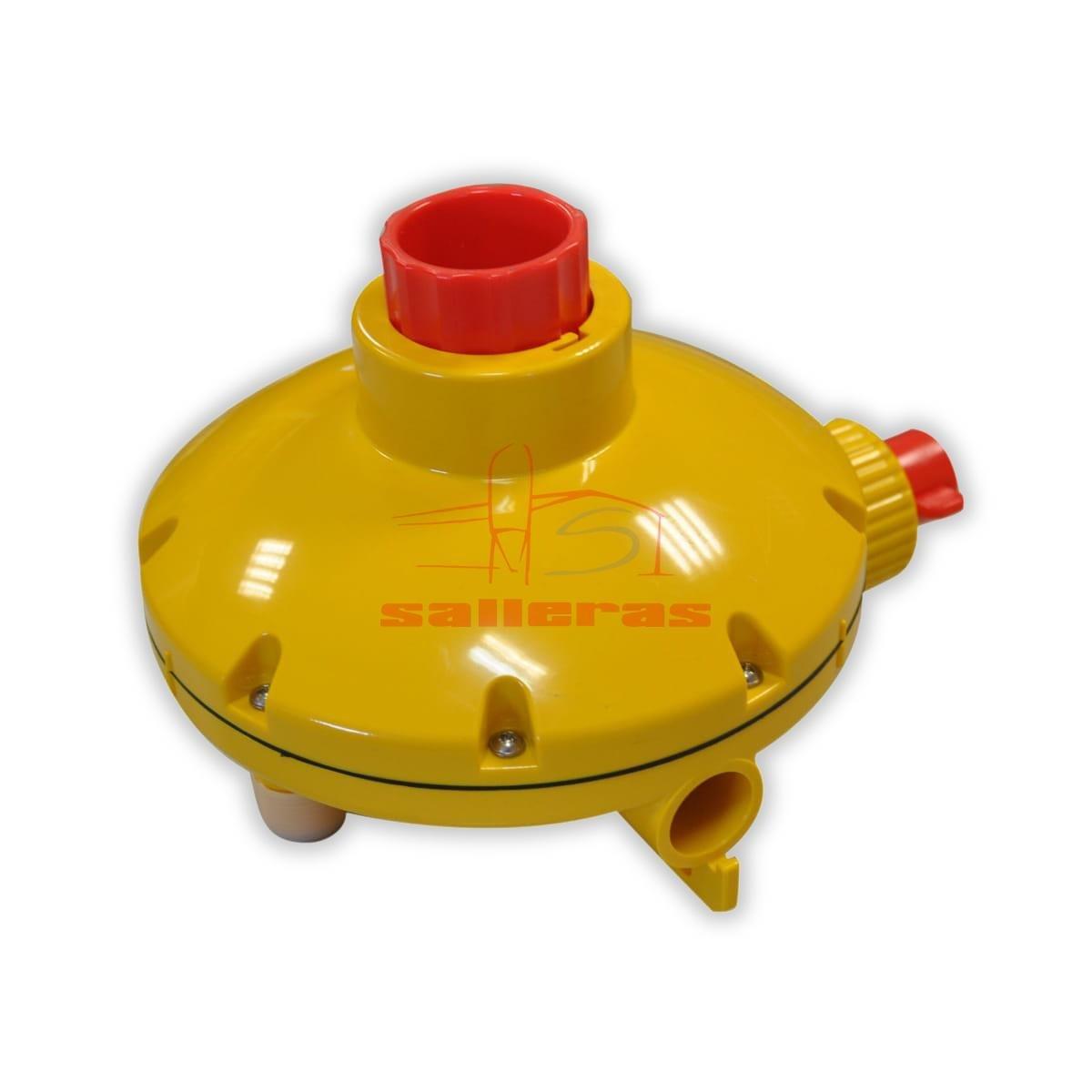 Regulador de presion de caudal amarillo marca lubing