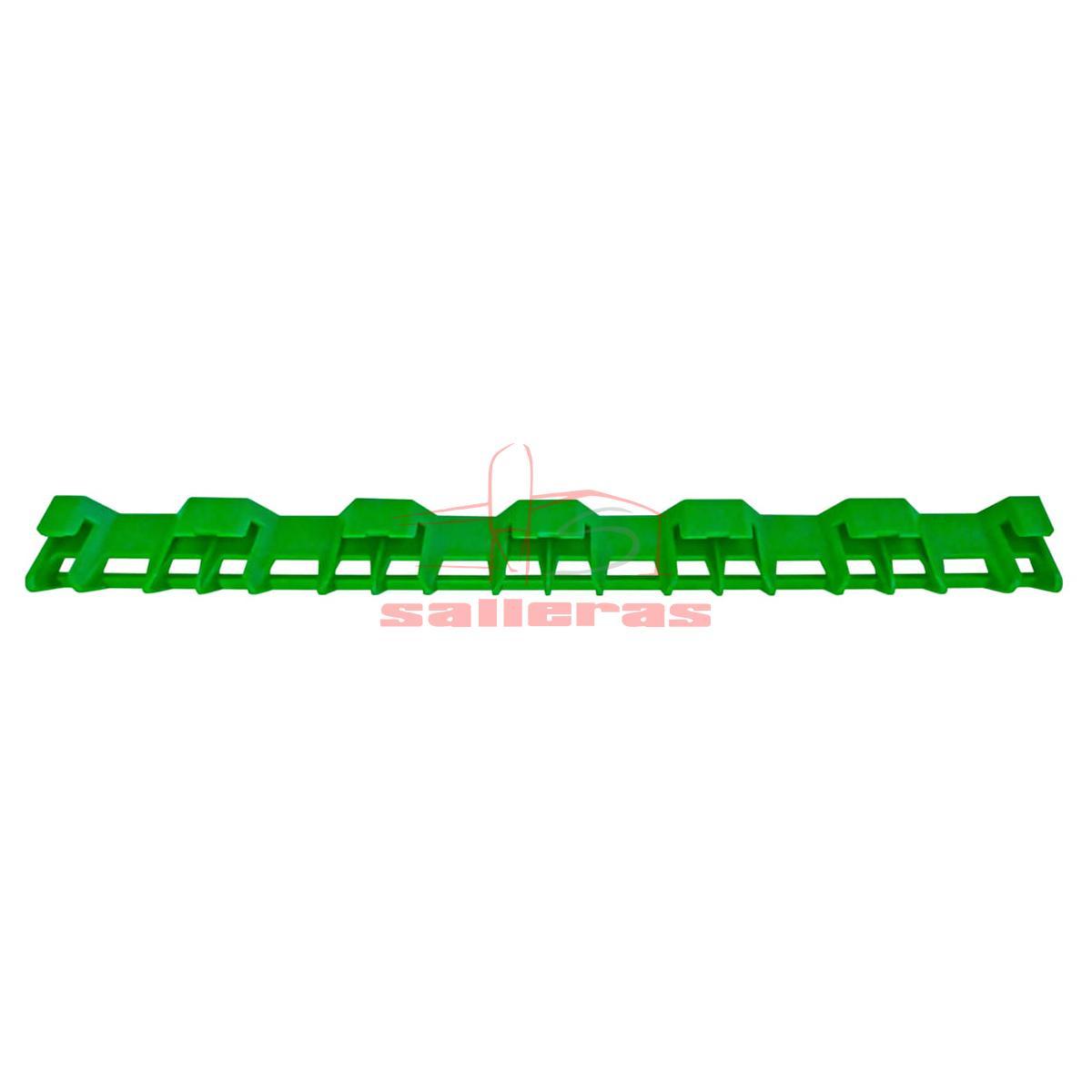 soporte verde para placas calefactoras