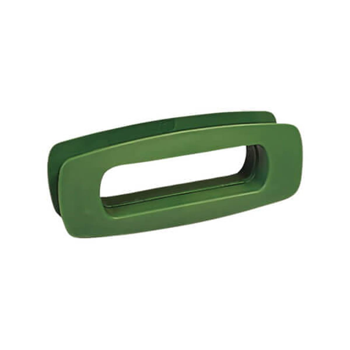 Asa verde rectangular para puertas de pvc