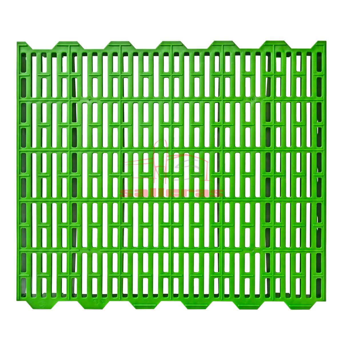 Rejilla verde de destete de tamaño medio