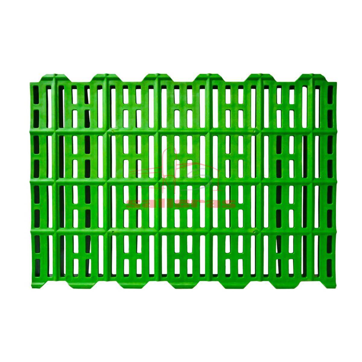rejilla slat zona de madres 60 40 reves verde