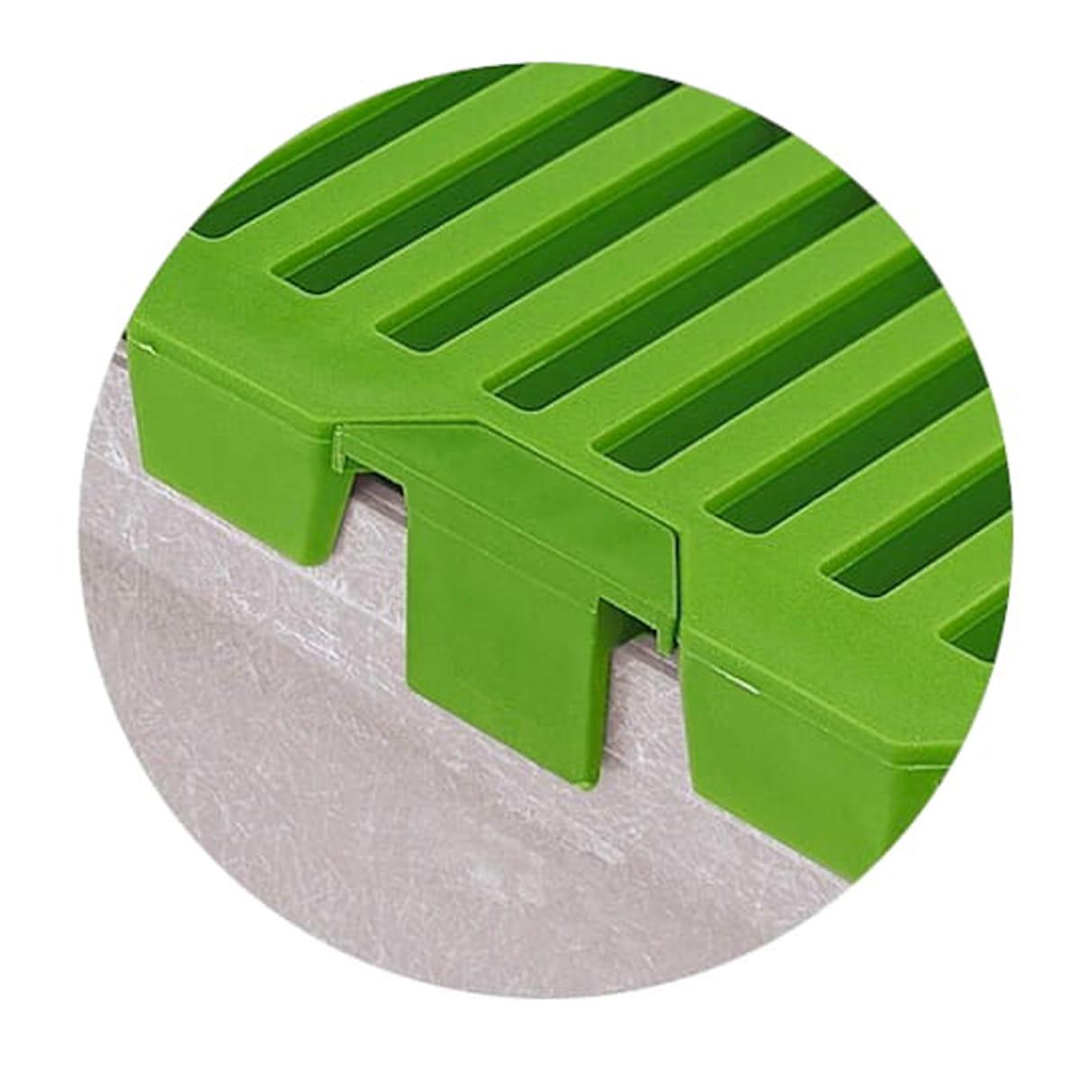 Complemento terminacion para rejillas de plastico