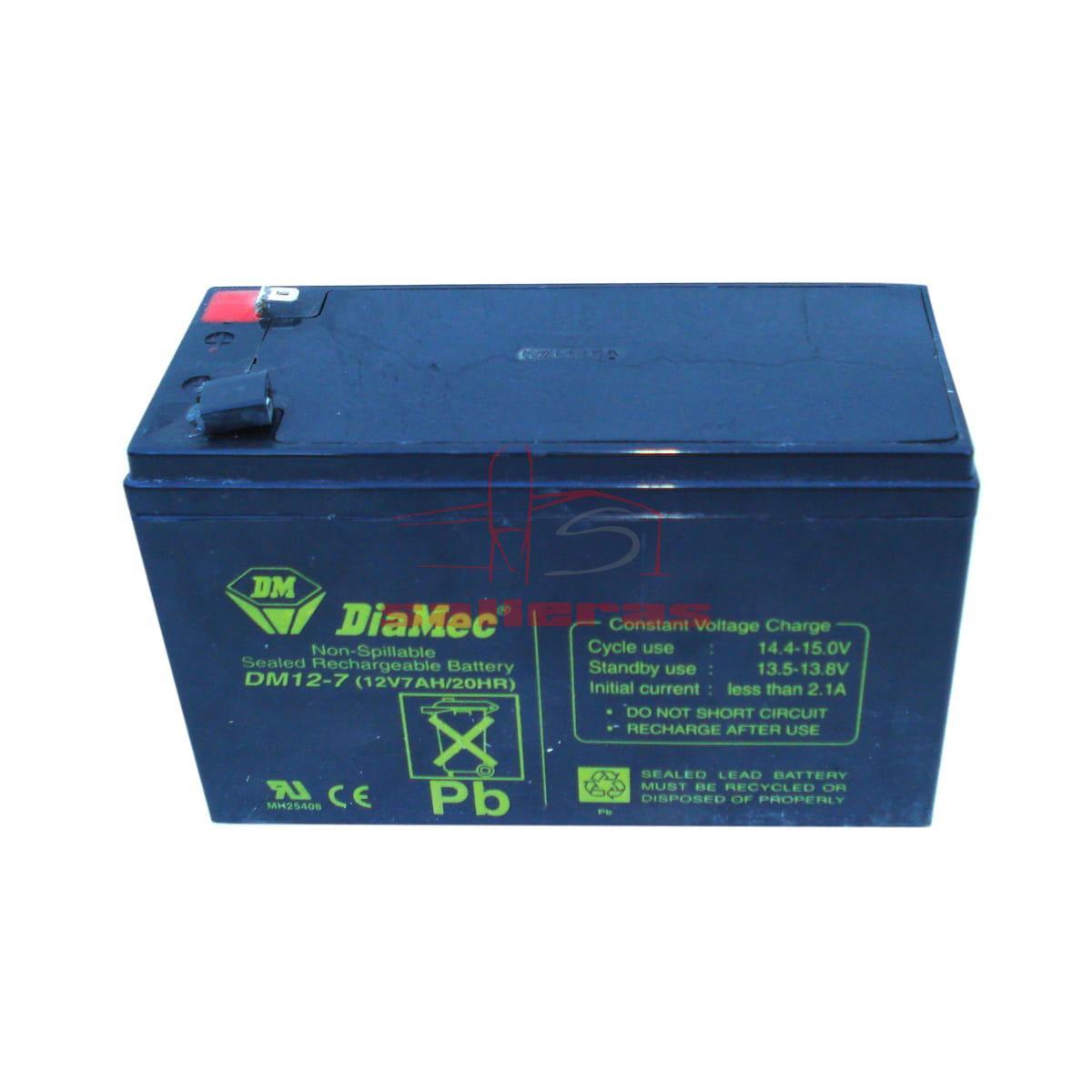 Bateria azul para torno de 12 vatios