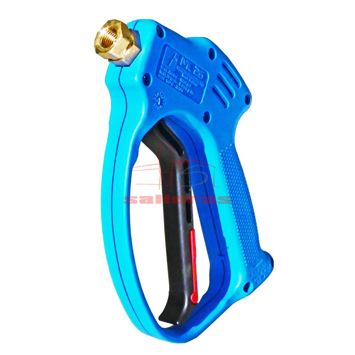 Dos pistolas de limpieza de agua a presion