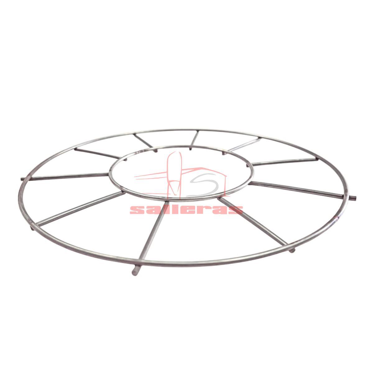 rejilla inoxidable circular reves