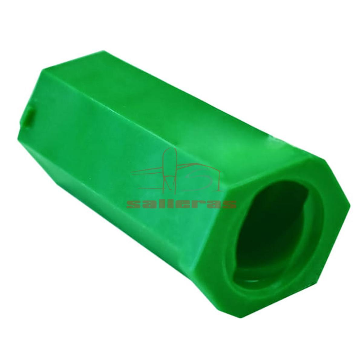 Dos roscas verdes tipo hembra