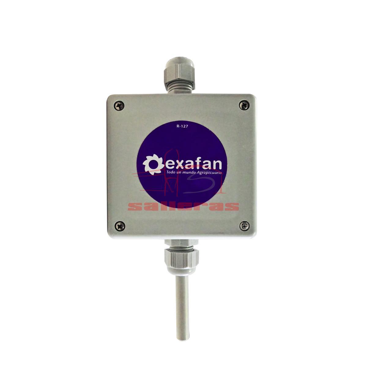 Dos sondas de temperatura con cable