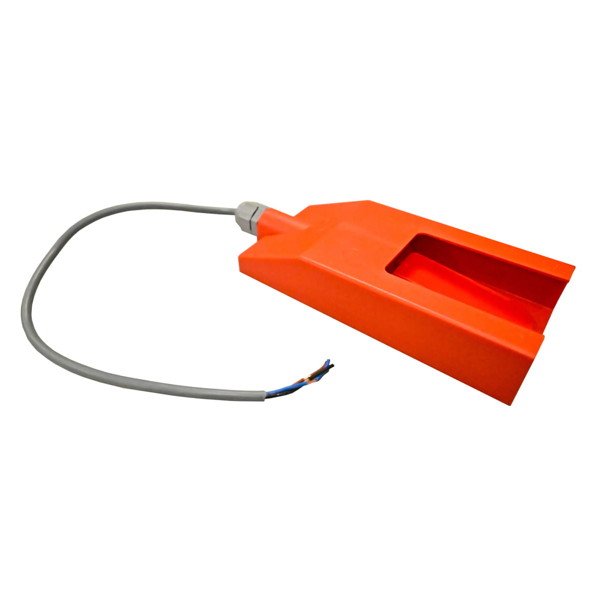 Final de carrera naranja con caja y sin tubo