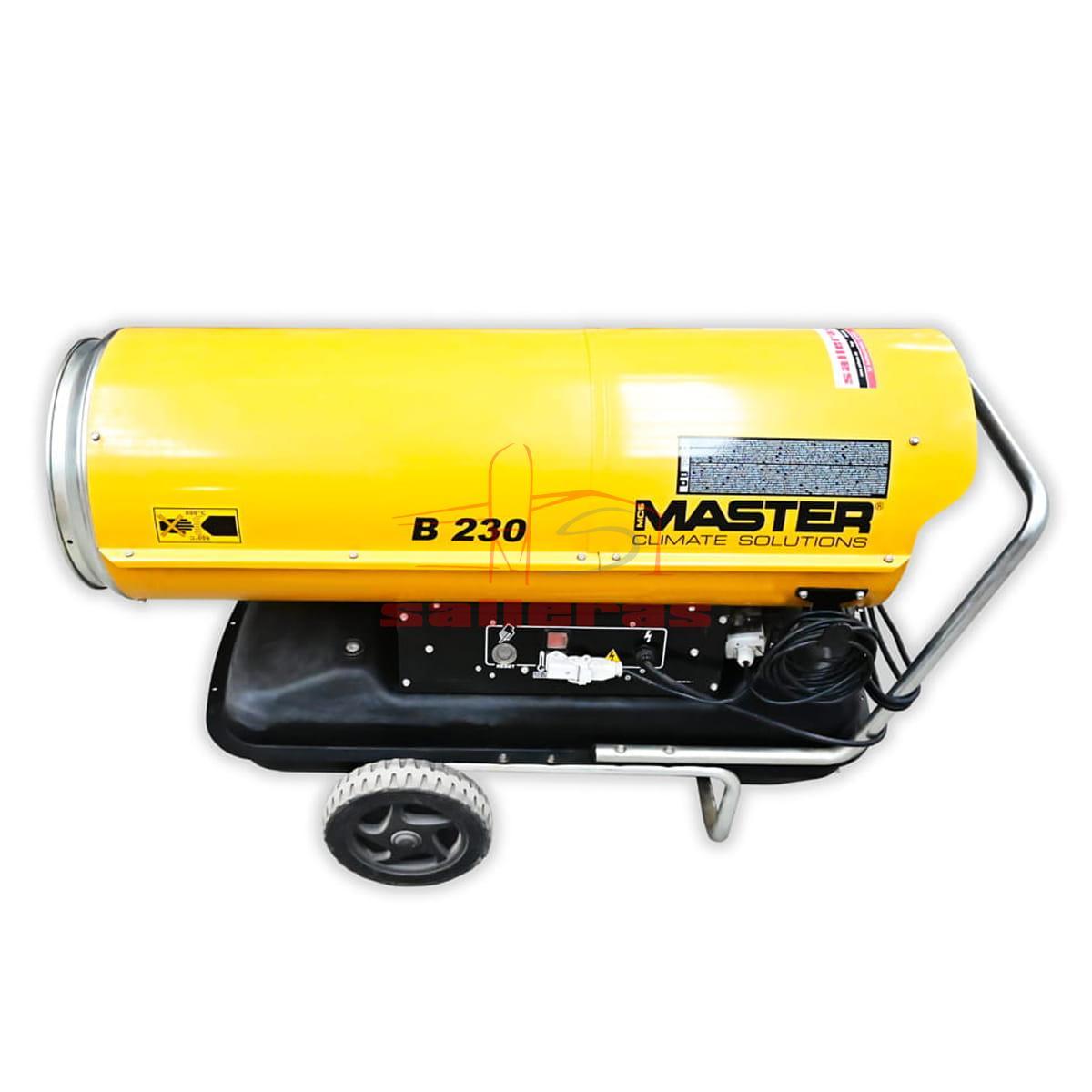 calefactor de gasoil b 230 reves