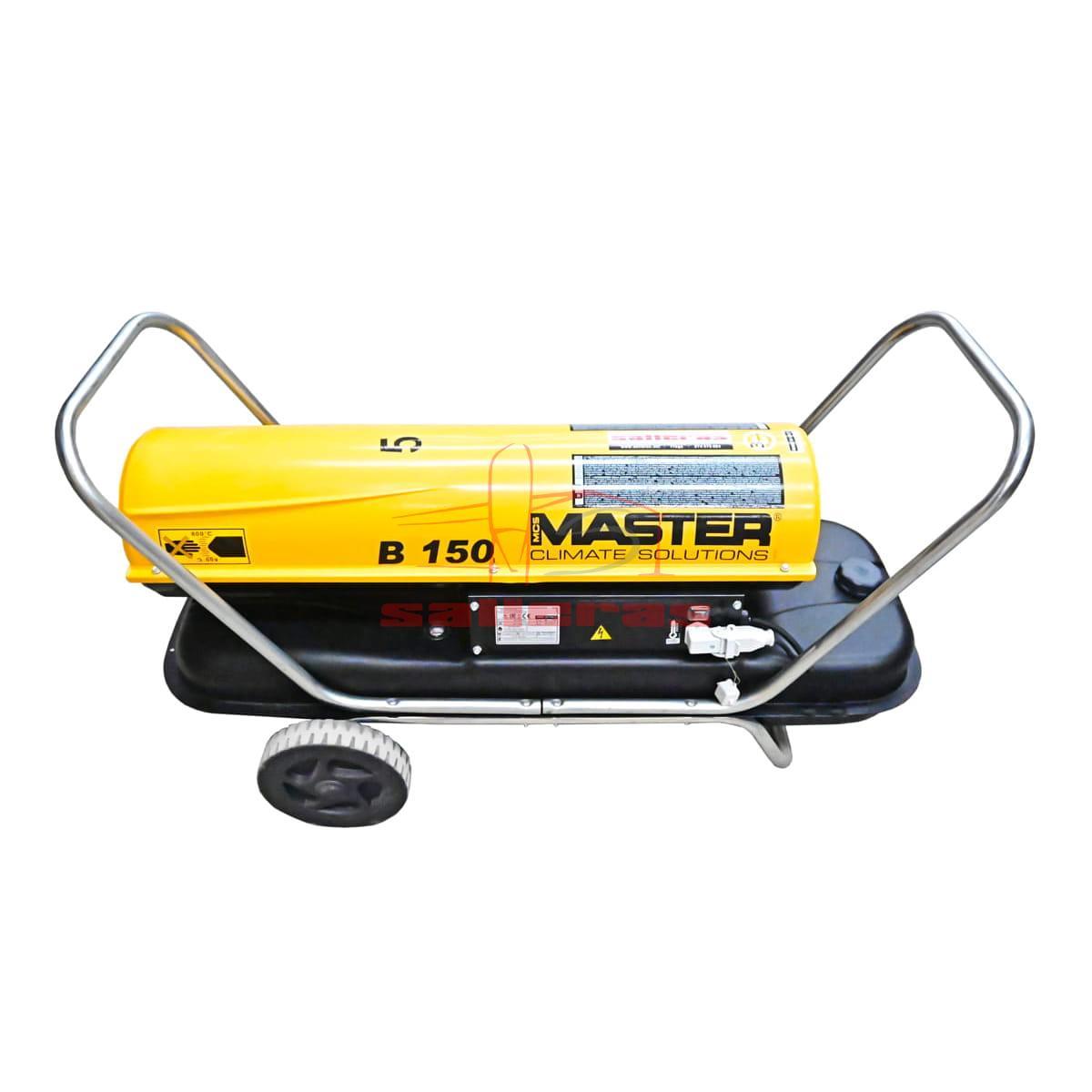 calefactor de gasoil b 150 lateral reves