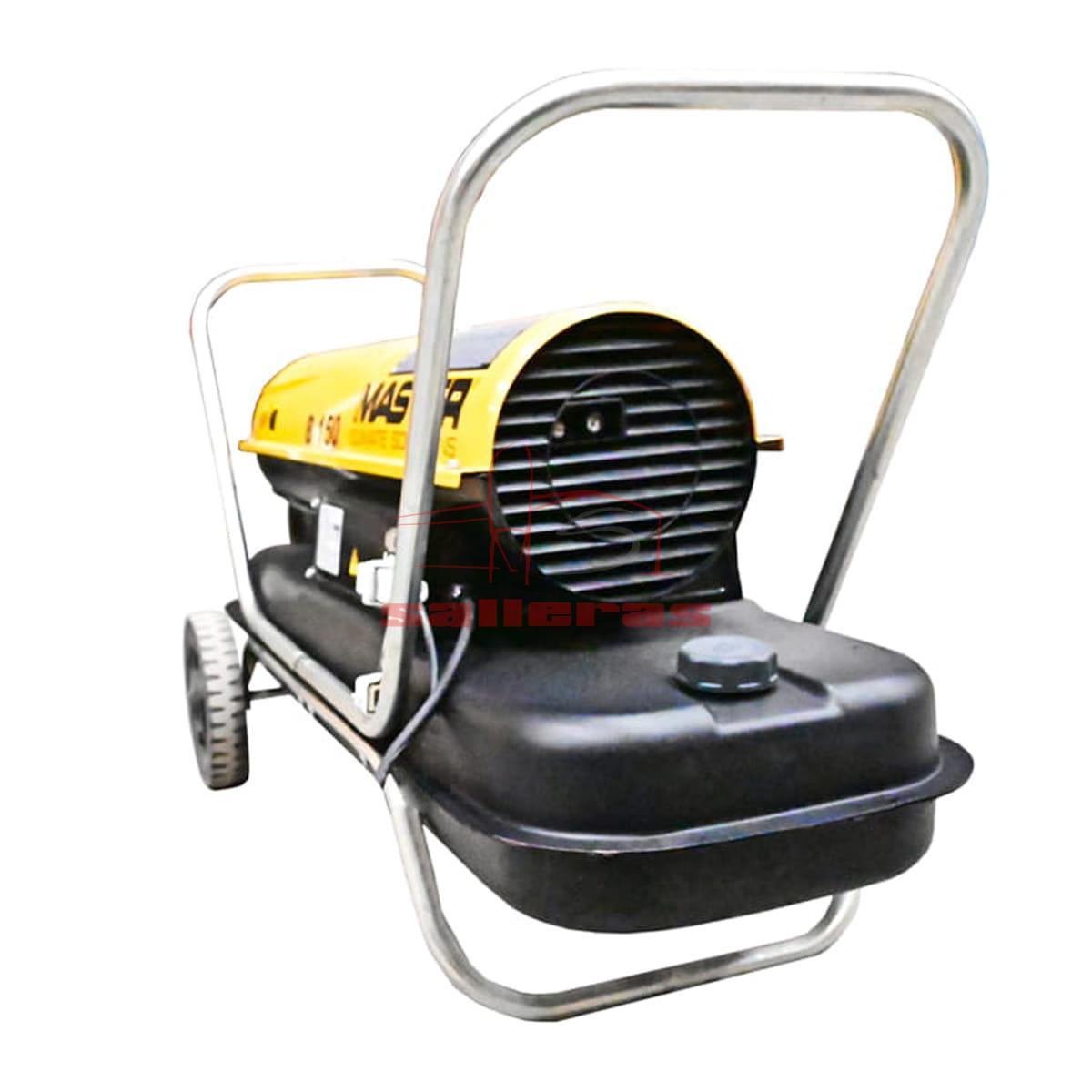 calefactor de gasoil b 150 detras