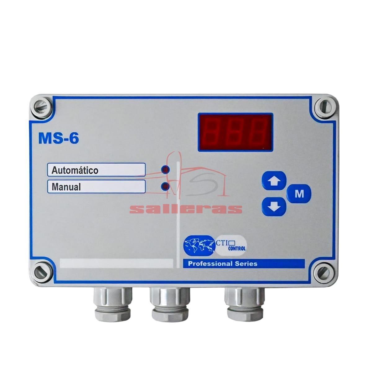 Regulador de etapa de potencia monofásica 6a