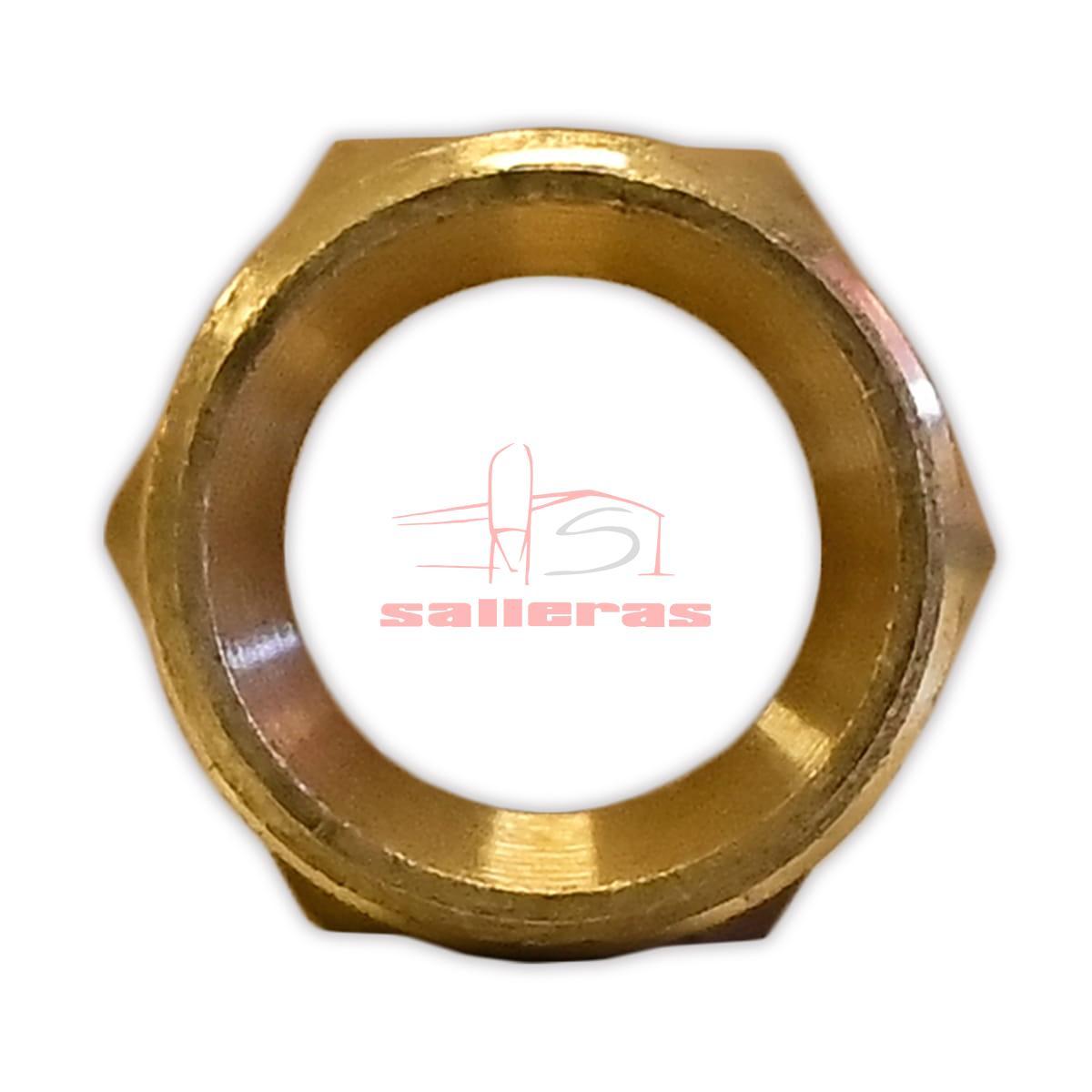Componente parte a h de tamaño tres octavos reves
