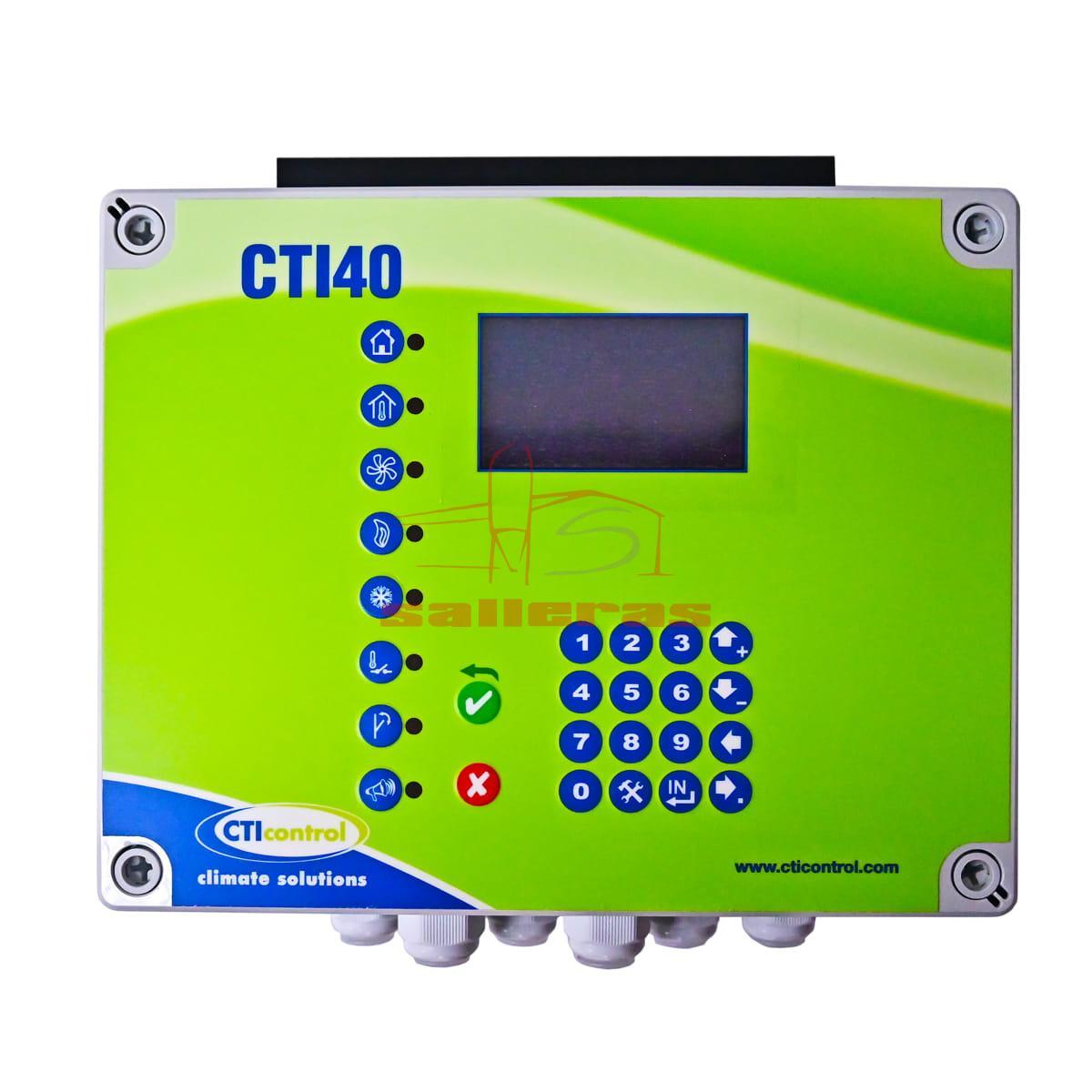Regulador cti 40 de 15 amperios