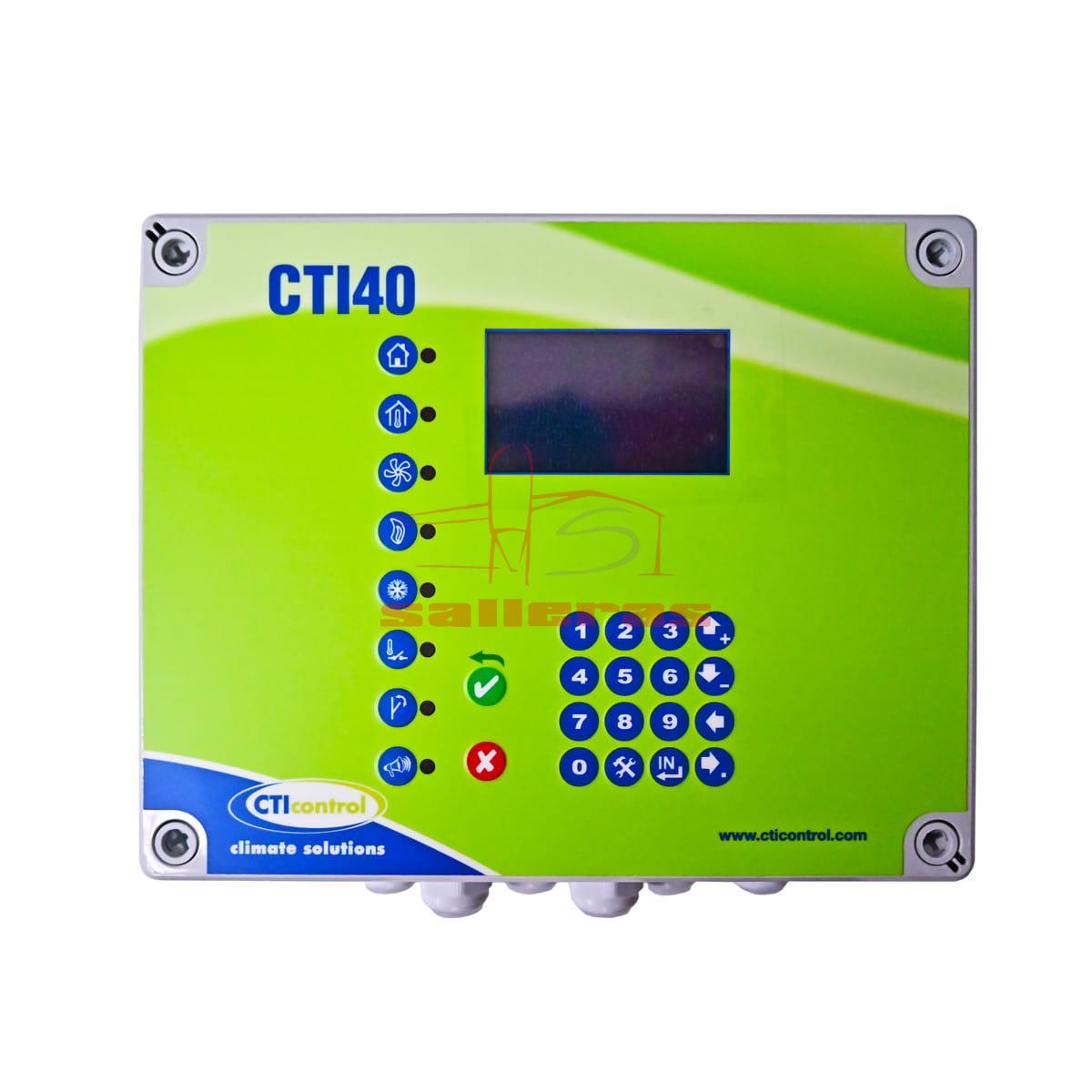 Regulador cti 40 de 6 amperios