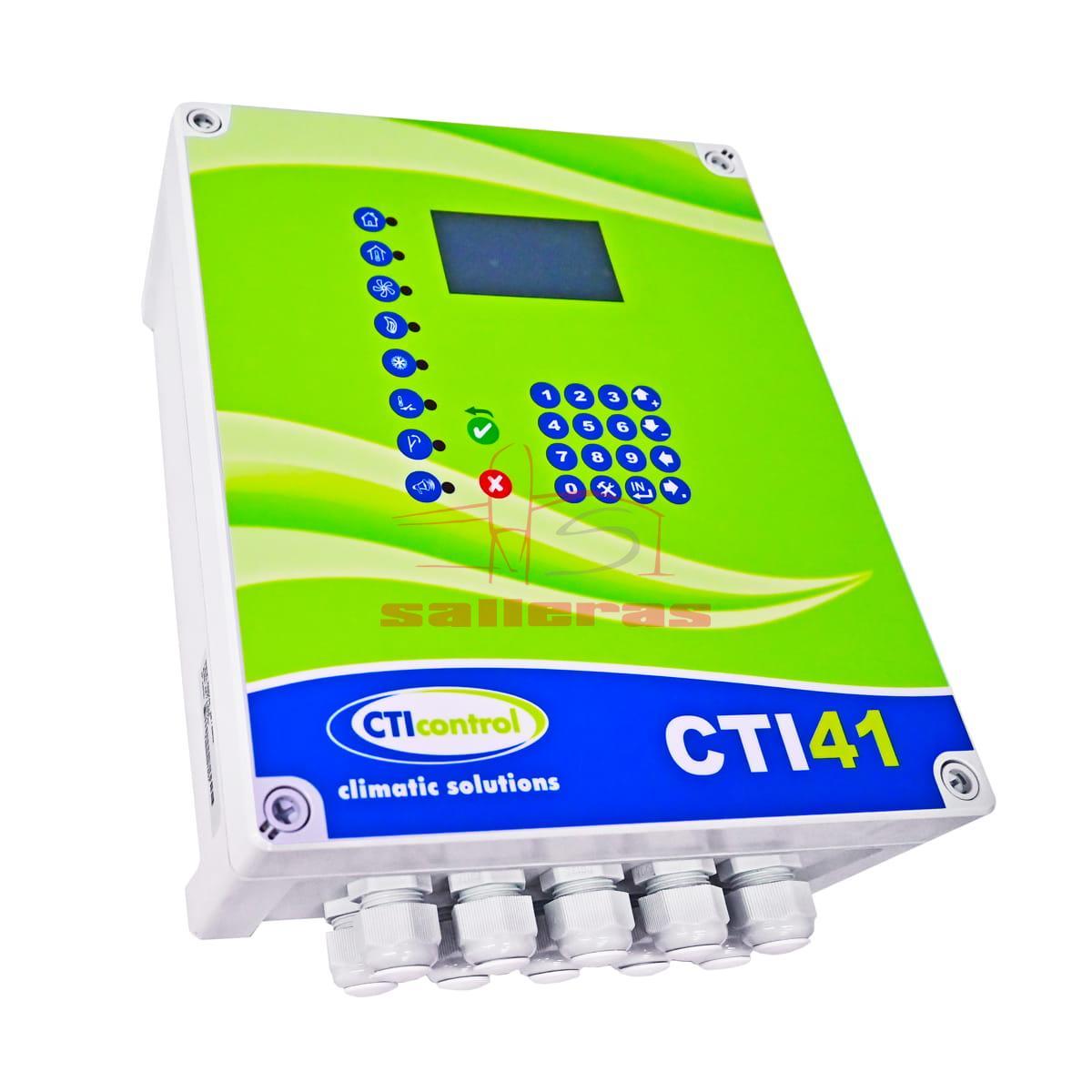 Regulador cti 41 25a verde reves