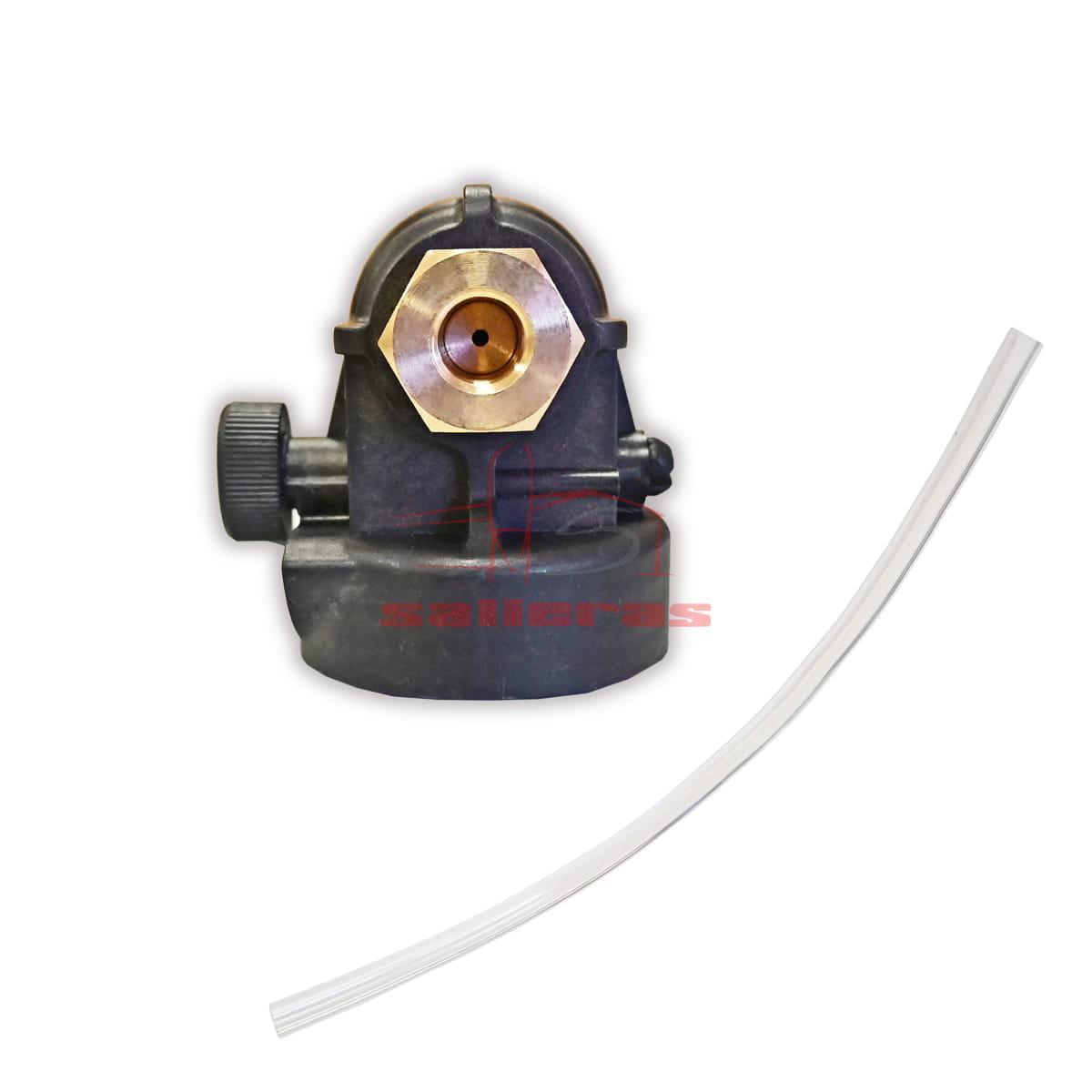 Boquilla y tubo para lanzar espuma